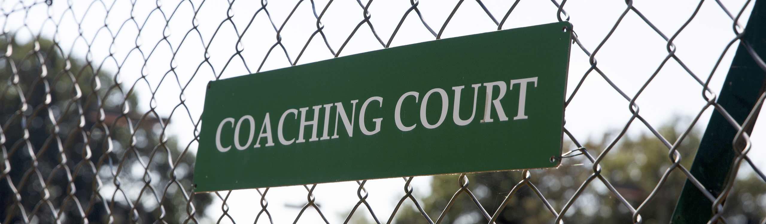 Coaching at Dorking Lawn Tennis & Squash Club